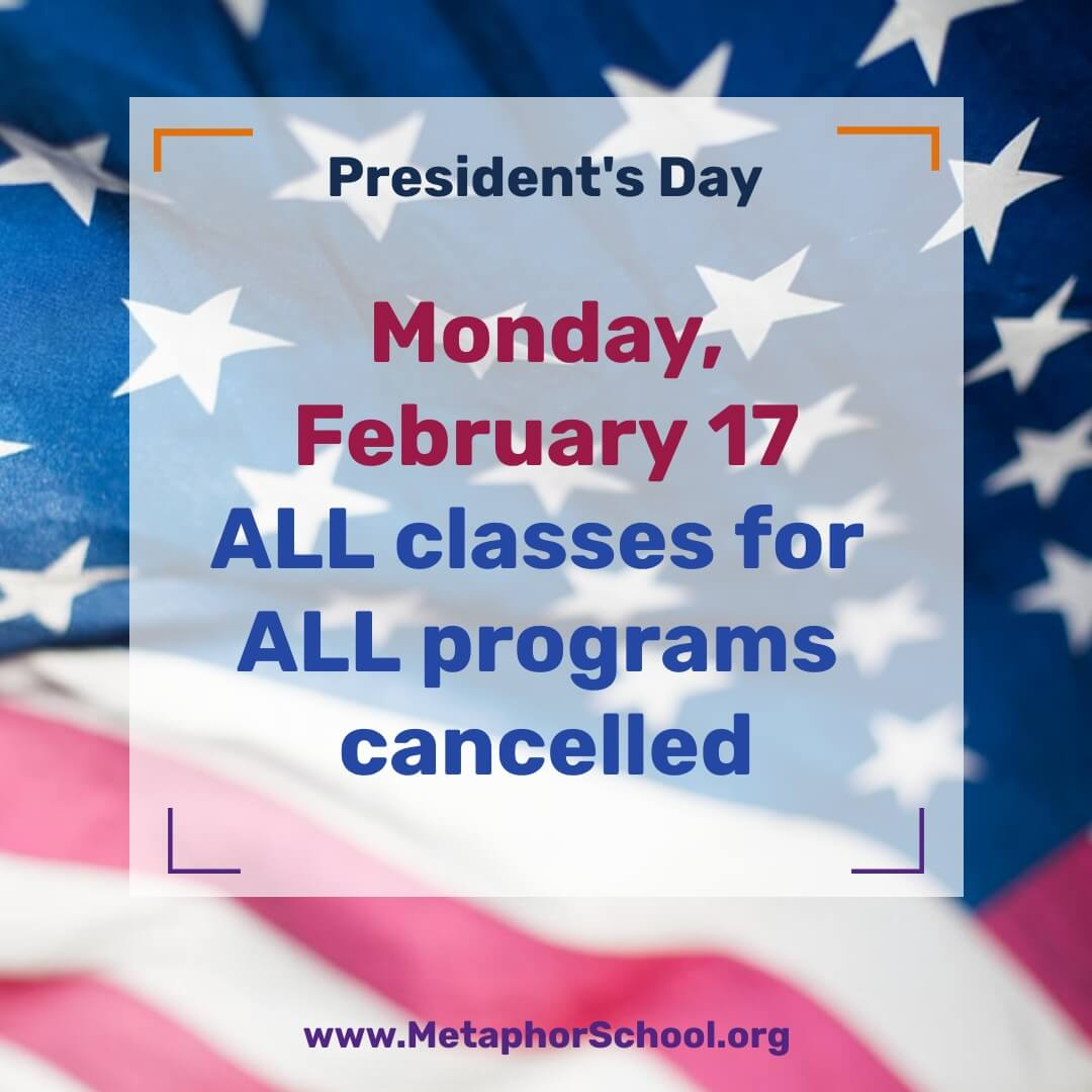President's Day  1 - Metaphor School