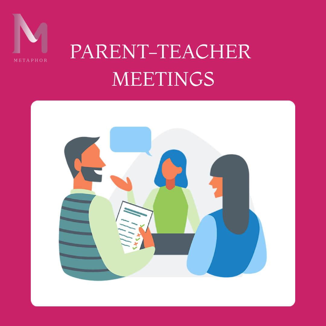 Teacher - Parents Meeting  1 - Metaphor School